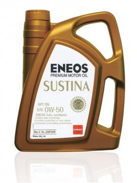 ENEOS SUSTINA 0W/50 4 LT Premium Motor Yağı